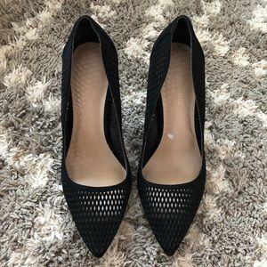 Saks Fifth Avenue black heels. Size 6.